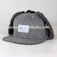 cheap winter baseball cap with ear flaps