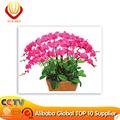 ร้อนขายดอกไม้ออกแบบภาพแจกันสำหรับdiyภาพสีน้ำมันดิจิตอ40x50cm
