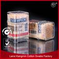 Boa qualidade amarrado do escova com placa de madeira palitos de bambu
