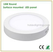 18 Watt givré LED plafond suspendu lumière