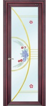 Christmas promotion China high quality pvc glass bathroom doors with best price