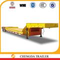 3 del eje de la cama del remolque de camiones para el transporte de la grúa de la venta caliente en tanzania