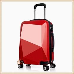 luggage suitcase,high quality hard trolley luggage,light spinner wheel,luggage bag