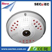 Security system 1.3 Megapixels 360 degree fisheye ip camera dome