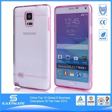 Fantastic Ultra Thin case maganetic button pu TPU clip on case for samsung galaxy note 4