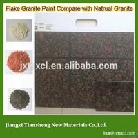 convenient construction decorative granite effect Chips exterior wall coating