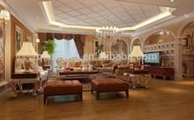 CE Approved 12mm Dark color Noble Oak Handscraped wood laminate Flooring for residential usage