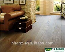 Wire Brushed White Oak Engineered Wood Flooring
