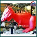 Nb-ct2096 ningbang nuovo design gigante rossa nflatable modello di dinosauro per la promozione