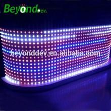 led audio bar counter with 30mm led pixle module flashing module