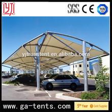 Aluminum double carport,Car parking shade,Canopy Carports