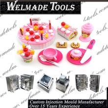ISO certified high precision cute girls toy injection mold