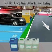 Clear Liquid Epoxy Resin and Hardener for Park Floor