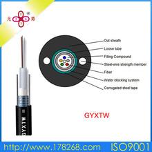 gyxtw armored 12 core fiber optical cable g657d fiber