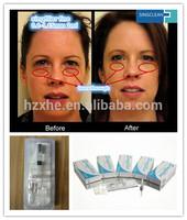 Promotion Hyaluronic Acid Dermal filler for nasolabial folds wrinkle skin rejuvenation Deep 0.28-0.5mm 2ml