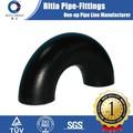 Astm A234 ASME / ANSI B16.9 calendario 40 sin costuras de acero al carbono accesorios de tubería codo