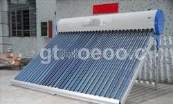 360L Non pressure Solar water heater/Galvanized steel/3target vacuum tube