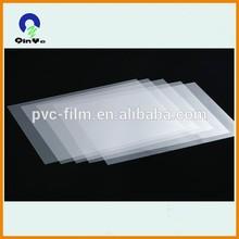 300micron thickness pvc transparent inkjet printing sheet