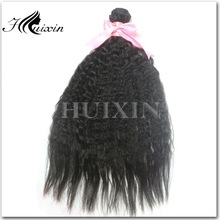 Hair coarse yaki remy hair weave yaki 100 human hair yaki straight