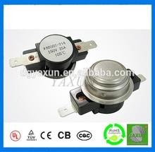 KSD302 bimetal thermal protector thermostat 60A 400V