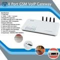 Vente chaude gsm voip gateway+4 port en ligne mise à jour firmware raog passerelle gsm passerelle gsm terminal fixe sansinscription