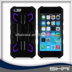 Wholesale TPU+PC rocket case for iPhone 6, hybrid case for iphone 6 , protective case for iphone 6 SKN004