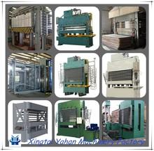 latest particle board making machine hot press hydraulic wood particle hot press machine