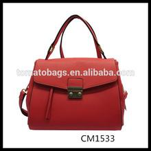 dark red envelop shape ladies cross body bag women handbag