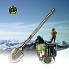 Steel Shovel Survival kit outdoor multifunction camping equipment as shovel knife cutter and hoe