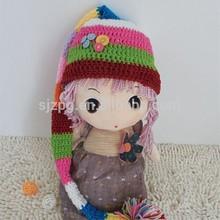 Knitting crochet pattern cute baby crochet hats caps with daisy flower