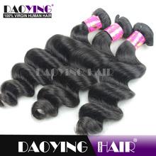 virgin 5a remy virgin malaysian hair fake black with curly hair
