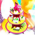 suporte de vela do bolo de carrossel ferramentas de decoração do bolo bolo pan para festa de casamento