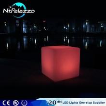 Rgb Decorative Led Cube Light Rgb Seat Led Cube