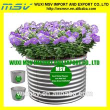 Garden metal flower baskets/ garden metal flower