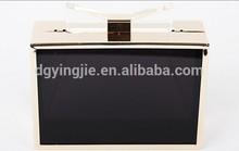 Fashion Clutch Acrylic Bow Closure Transparent Acrylic Evening Bag Wholesale S20203