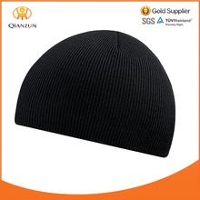 Black BEANIE HAT Men Women Lady Unisex Cold Winter Warm Ski Woolly Cap Knit
