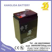 6v sealed lead acid battery for Flashing Lights