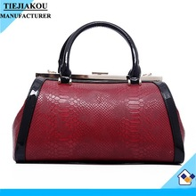 New arrival custom python handbags china online shopping