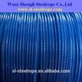 recubierto de pvc cuerda de alambre del carrete 250m