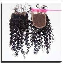 Natural Hair Crafts Factory Natural Color Cheap Free/Middle/Three Part Peruvian Virgin Hair Bundles With Lace Closure