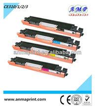 Printer cartridge laserjet toner cartridge CE310A series for HP printer toner parts