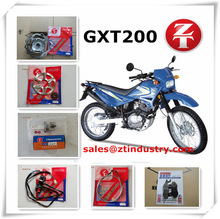 best selling GXT200 motorcycle spare parts from china