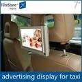 7 pulgadas digital activados por movimiento del coche reproductor de publicidad, usb para el coche reproductor de vídeo