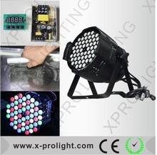 beam& wash effect led moving head light 54pcs 3w par light night club decor