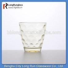 LongRun 2015 high quality 280ml stylish restaurant use drinking glass cup glassware wholesales