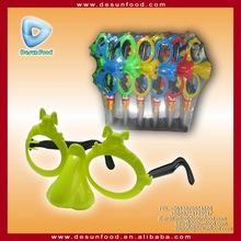New candy toy Big nose glass toy with sweets