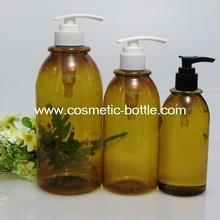 Hair Care Usage Shampoo Plastic PET Lotion Pump A Line Bottles