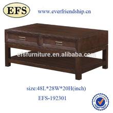 Reclaimed living room square sheesham wood coffee table