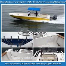 Gather 9.5m fiberglass center console boat,fiberglass open boat