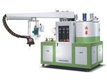 PU shoe injection machine for summer shoe